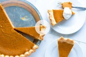 No Fail Homemade Pumpkin Pie Recipe