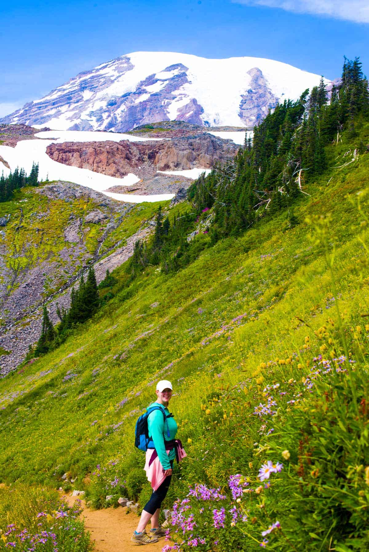 On the way down -- Skyline Trail, Mount Rainier