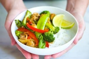 30-Minute Ginger Chicken Stir Fry Recipe with Veggies
