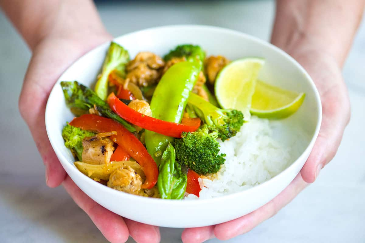 30-Minute Ginger Chicken and Veggie Stir Fry Recipe