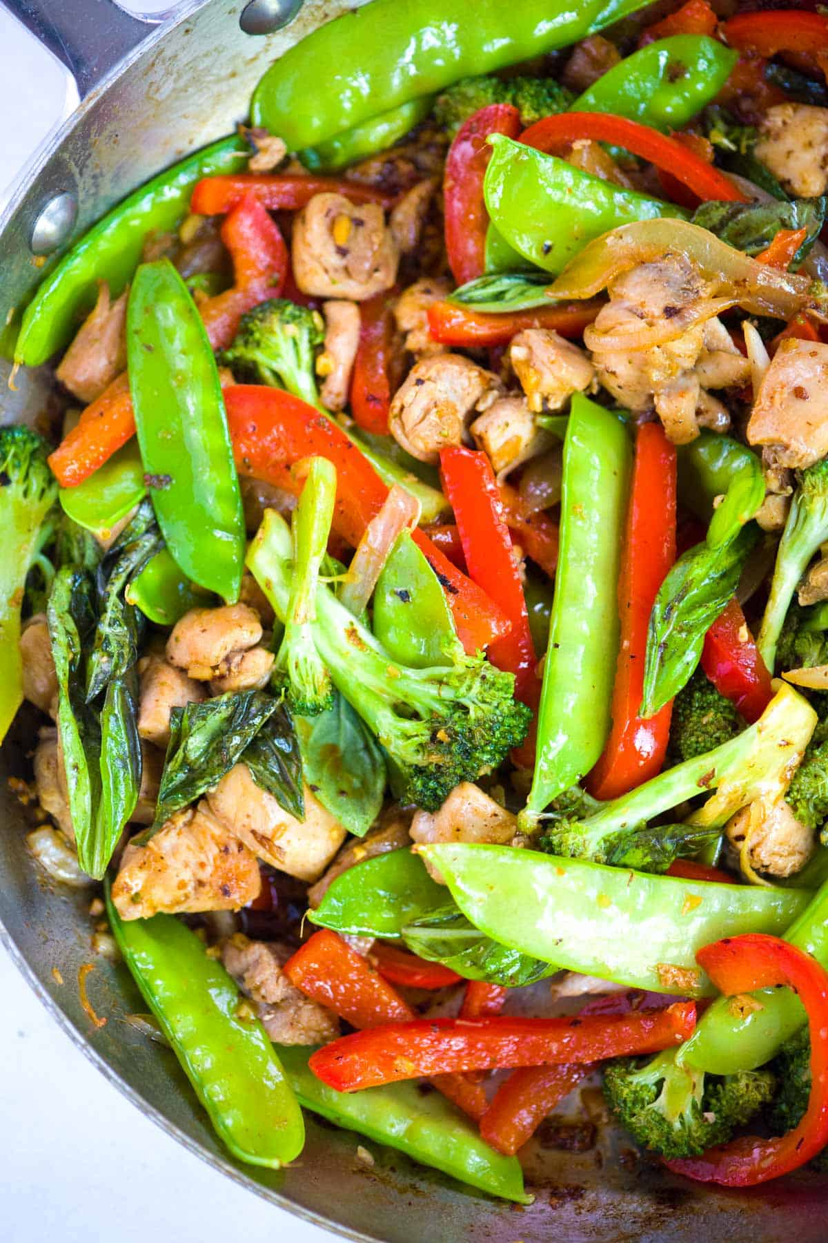 30 Minute Ginger Chicken Stir Fry