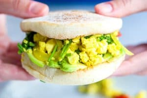 Fully Loaded Vegetable Tofu Scramble