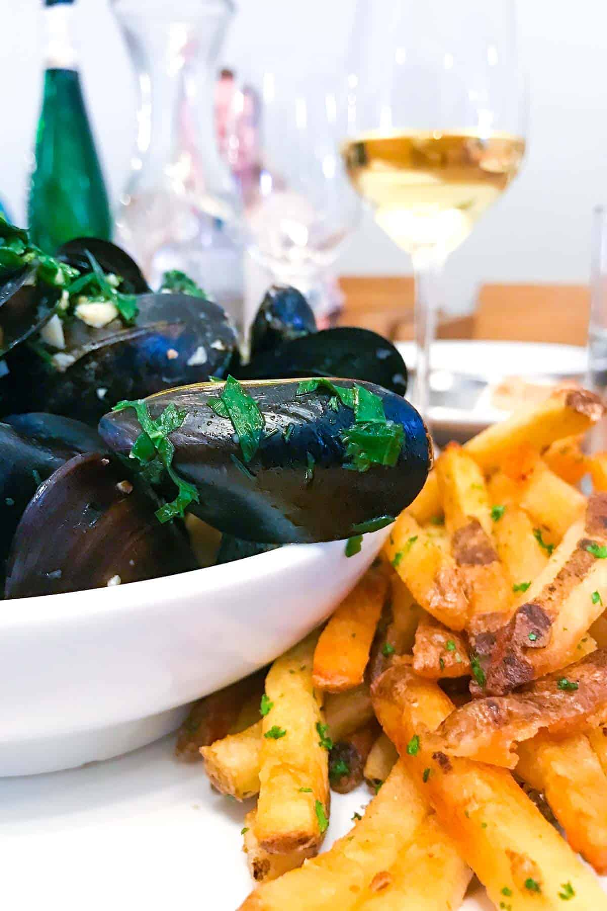 Moules Frites from Brasserie Four in Walla Walla