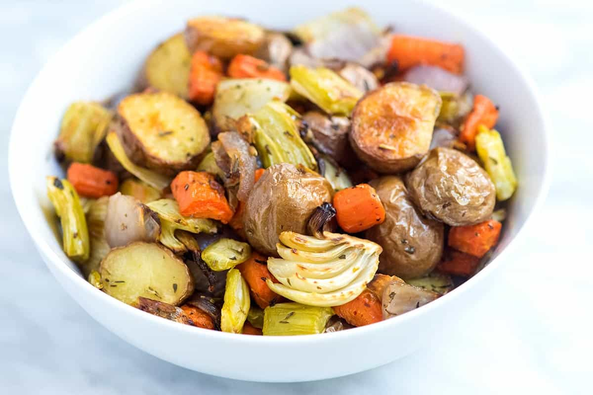 Our Favorite Oven Roasted Vegetables Recipe