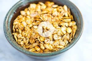 How to Roast Homemade Pumpkin Seeds Recipe Video