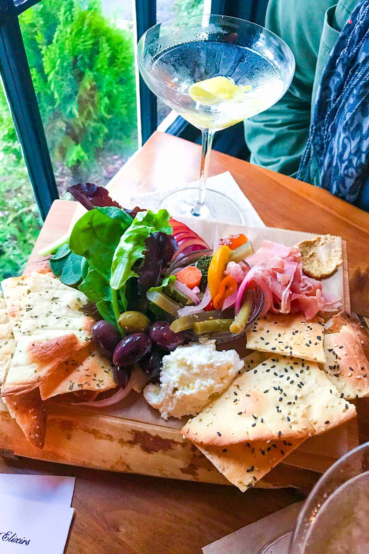 Cocktails, Cheese and Charcuterie from Barnacle on Orcas Island