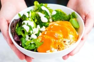 Buffalo Chicken Rice Bowls Recipe