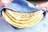 Easy Sesame Garlic Flatbread Recipe