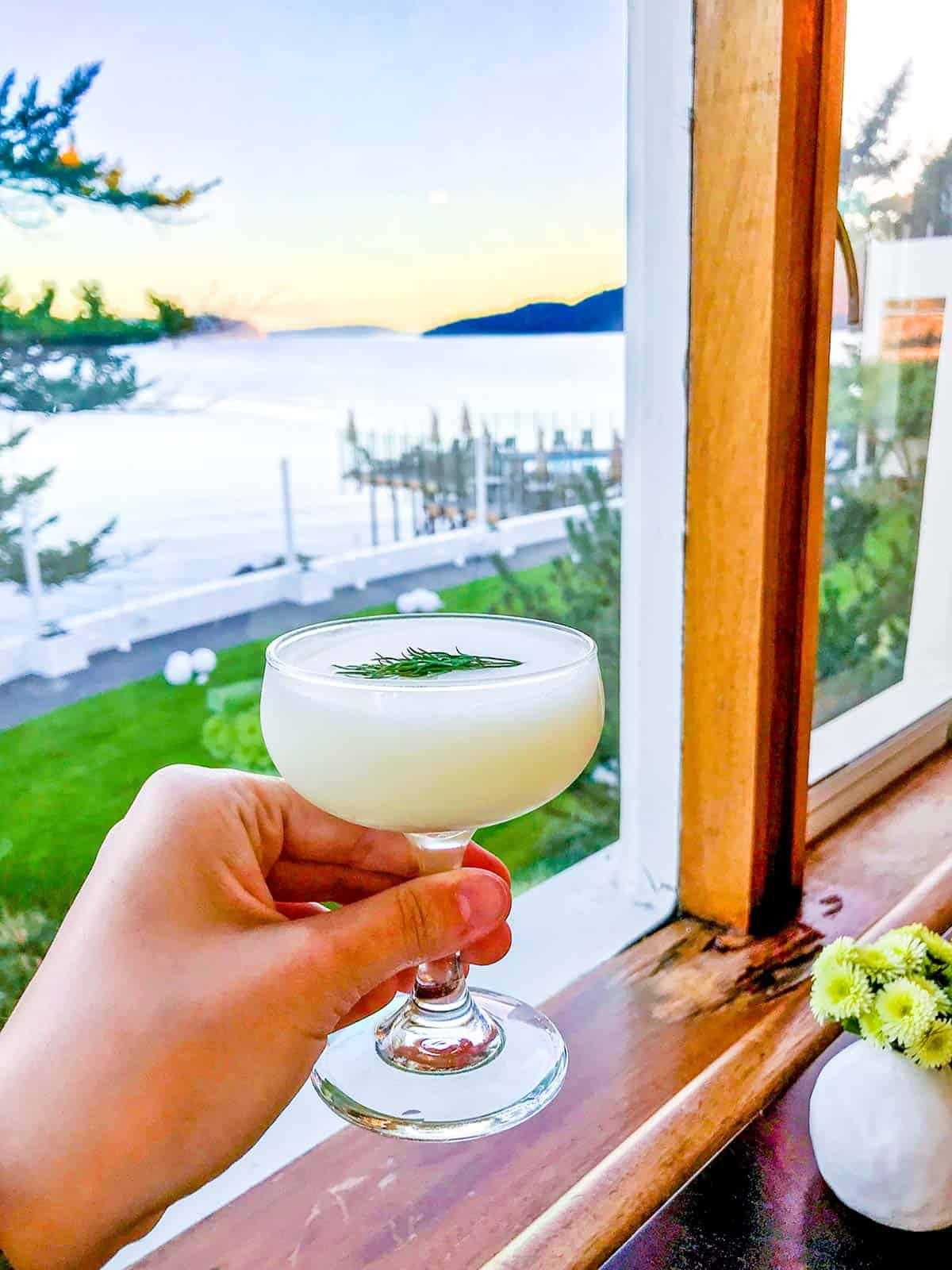 Northern Exposure Cocktail from Rosario's on Orcas Island