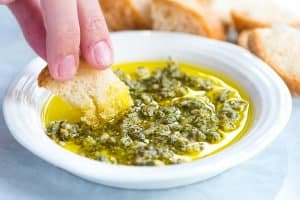 Ridiculously Good Olive Oil Dip