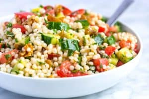 Easy Lemon and Herb Couscous Salad Recipe