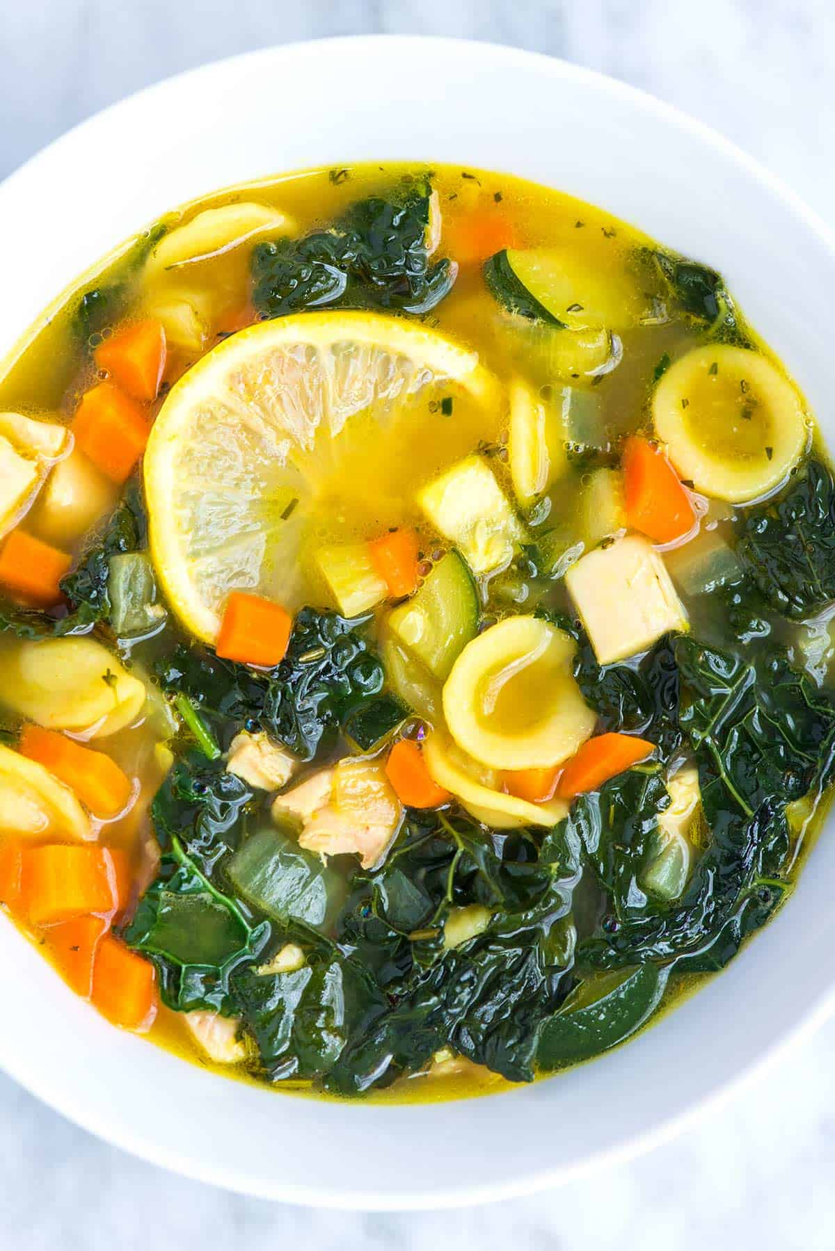 How to Make Kale Chicken Soup