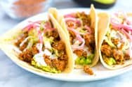 Quick and Easy Ground Pork Tacos Recipe