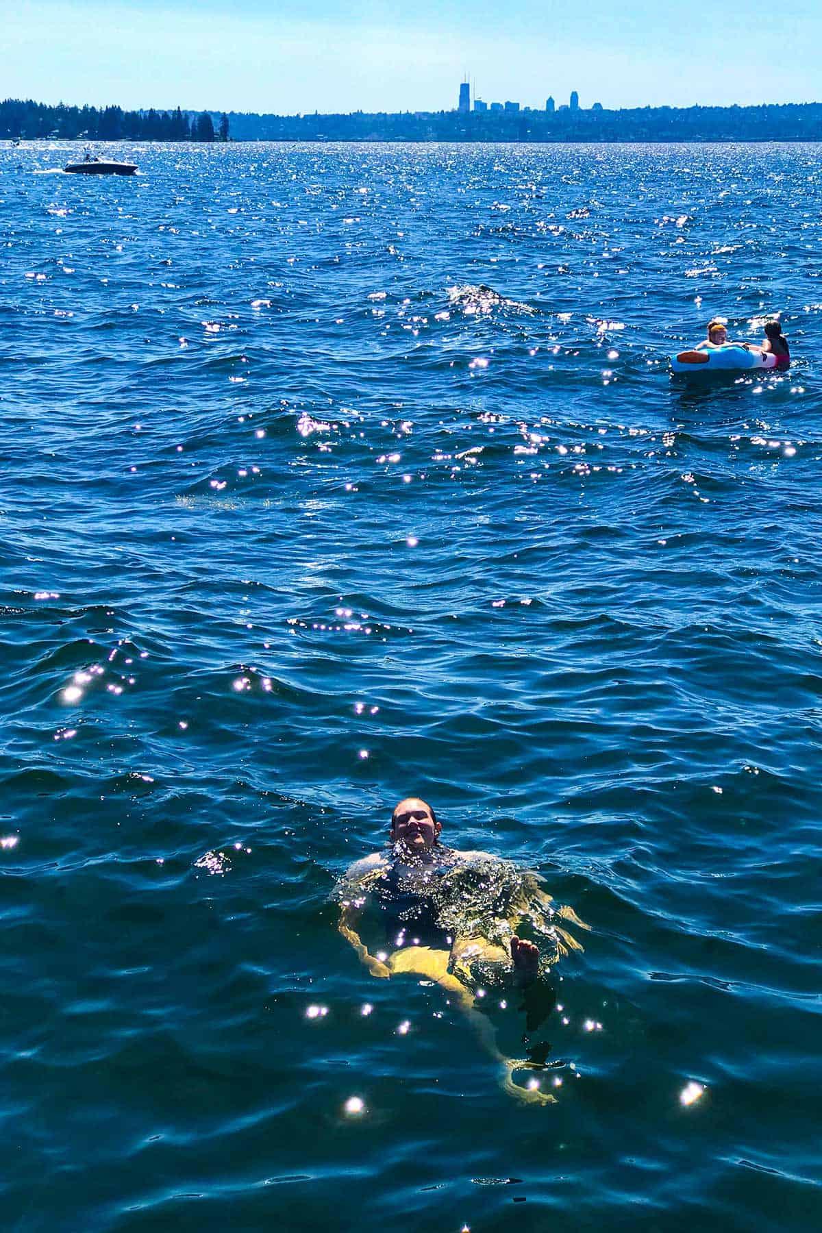 Things to Do in Kirkland, WA: Swim in Lake Washington