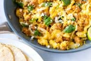 Chorizo and Eggs Breakfast Skillet Recipe