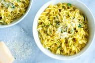 Easy Parmesan Buttered Noodles Recipe