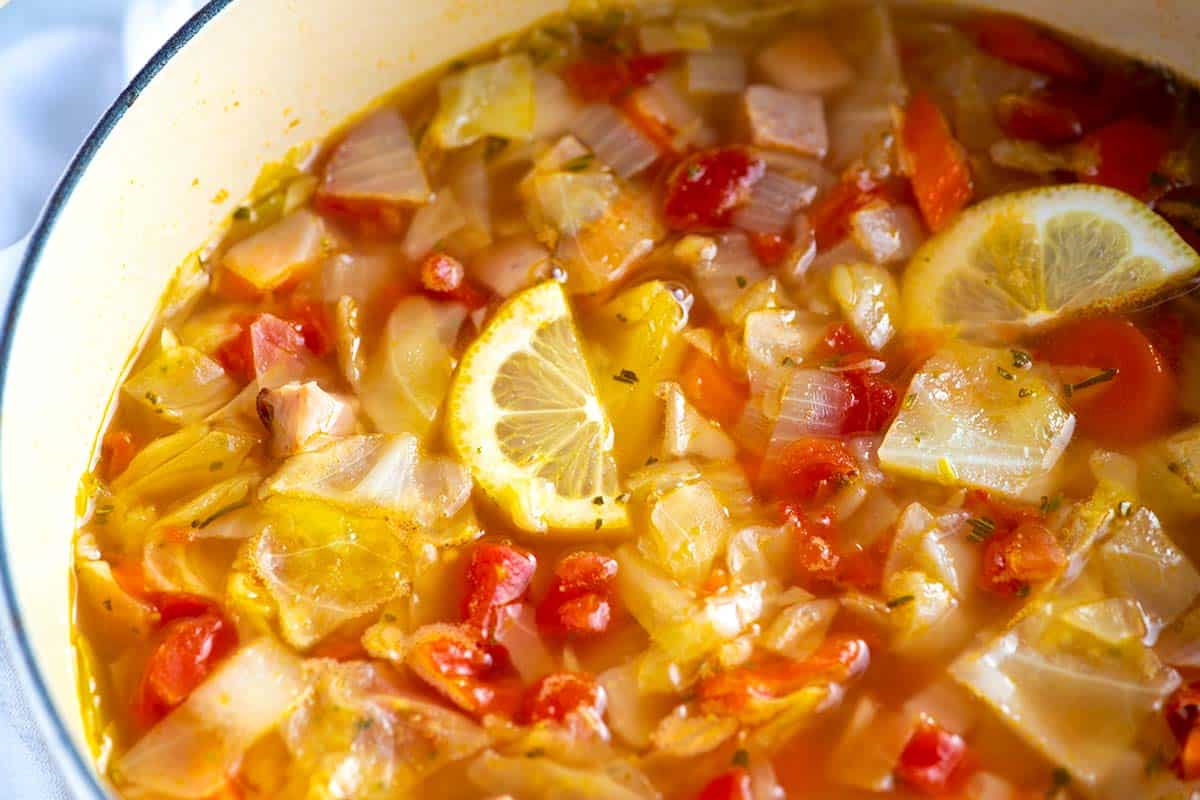 Ham and Cabbage Soup Recipe