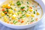 Creamy Homemade Potato Soup Recipe