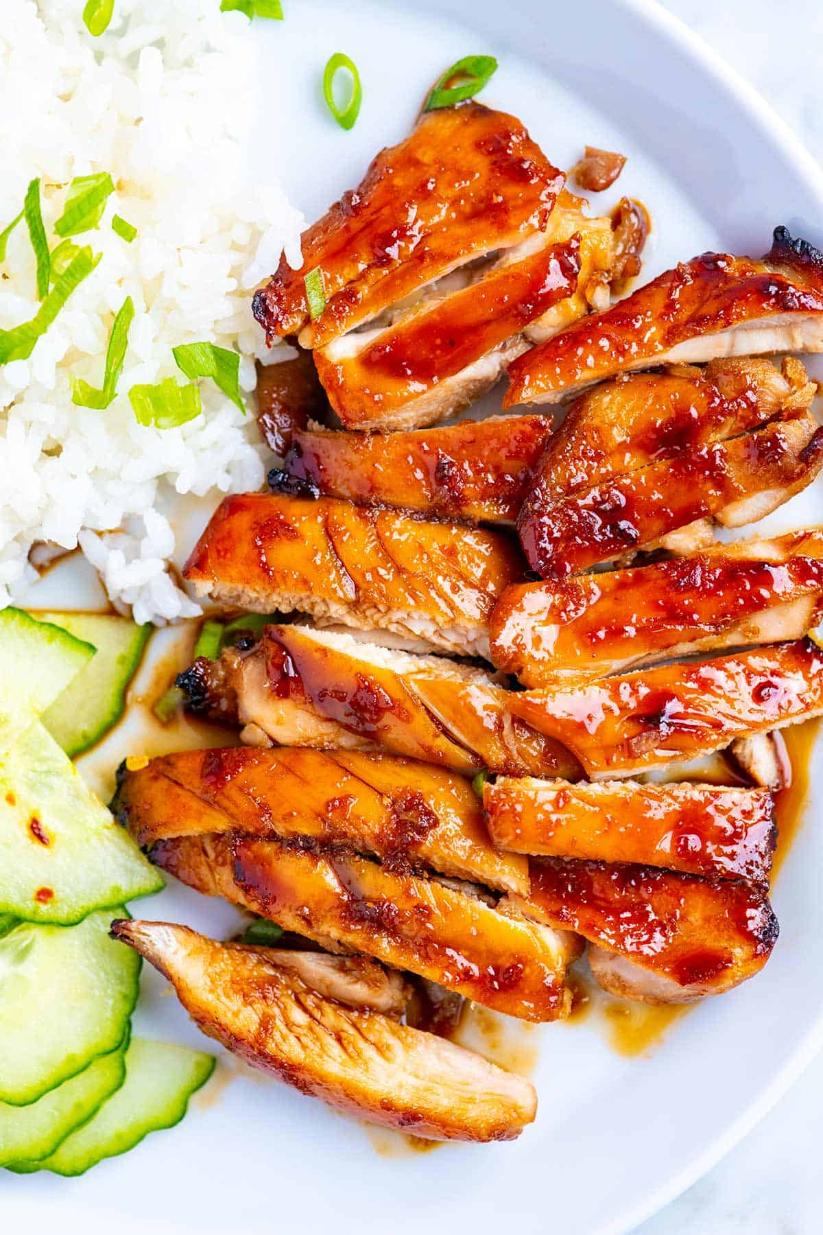 chicken teriyaki recipe easy sauce homemade very cut crave worthy