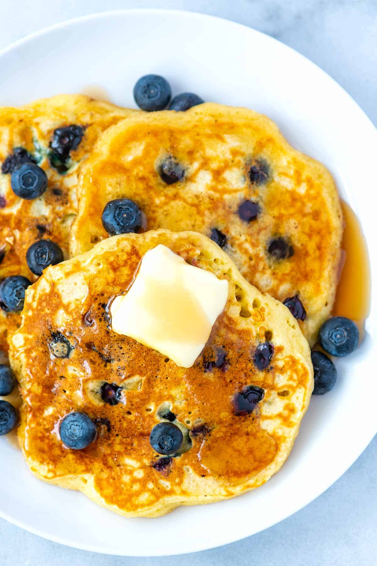 How to Make the Best Blueberry Pancakes