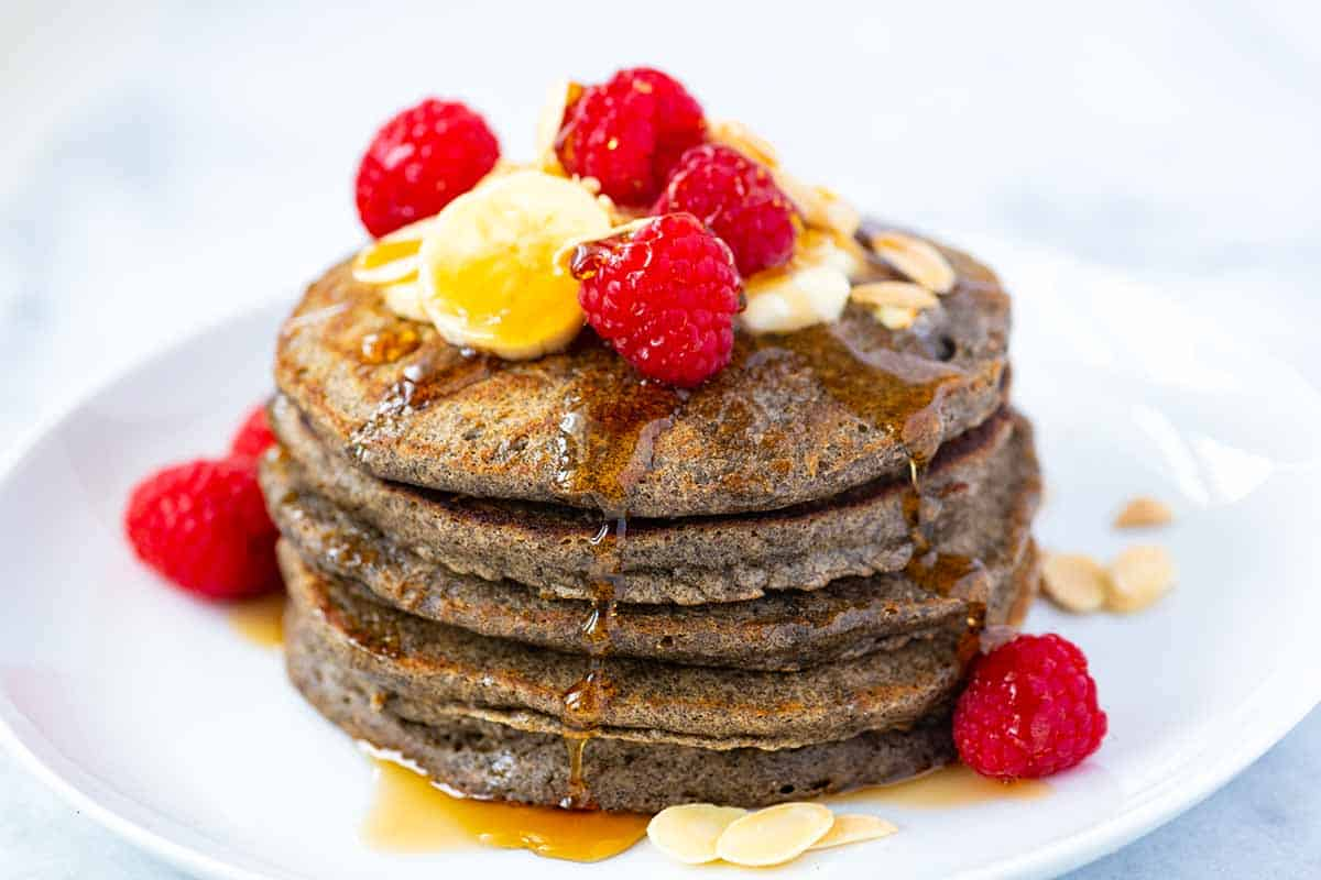 Easy Fluffy Buckwheat Pancakes