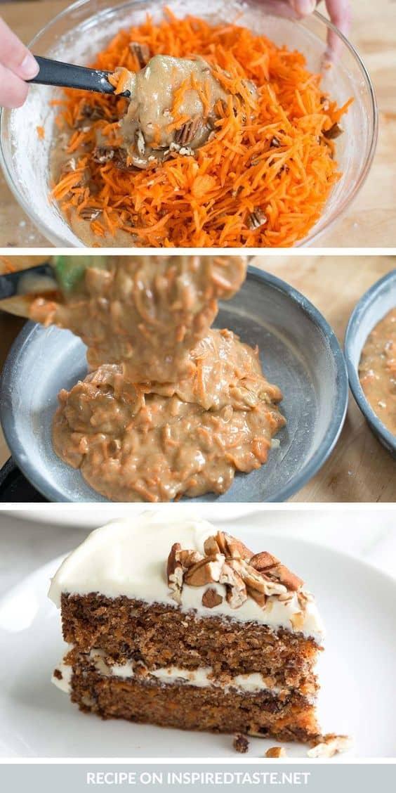 Carrot Cake Recipe-Inspired Taste