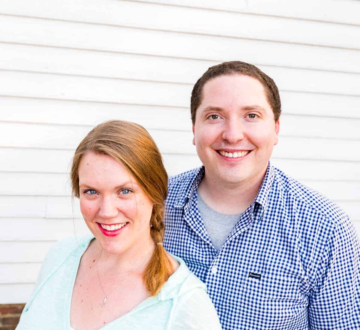 Adam and Joanne Gallagher, Owners, publishers, authors, and recipe developers of Inspired Taste Recipe and Food Blog