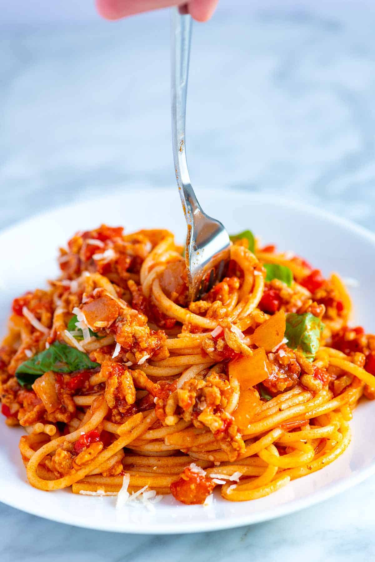 Easy Weeknight Spaghetti with Meat Sauce Recipe