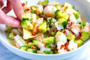 Fresh and Easy Shrimp Ceviche Recipe