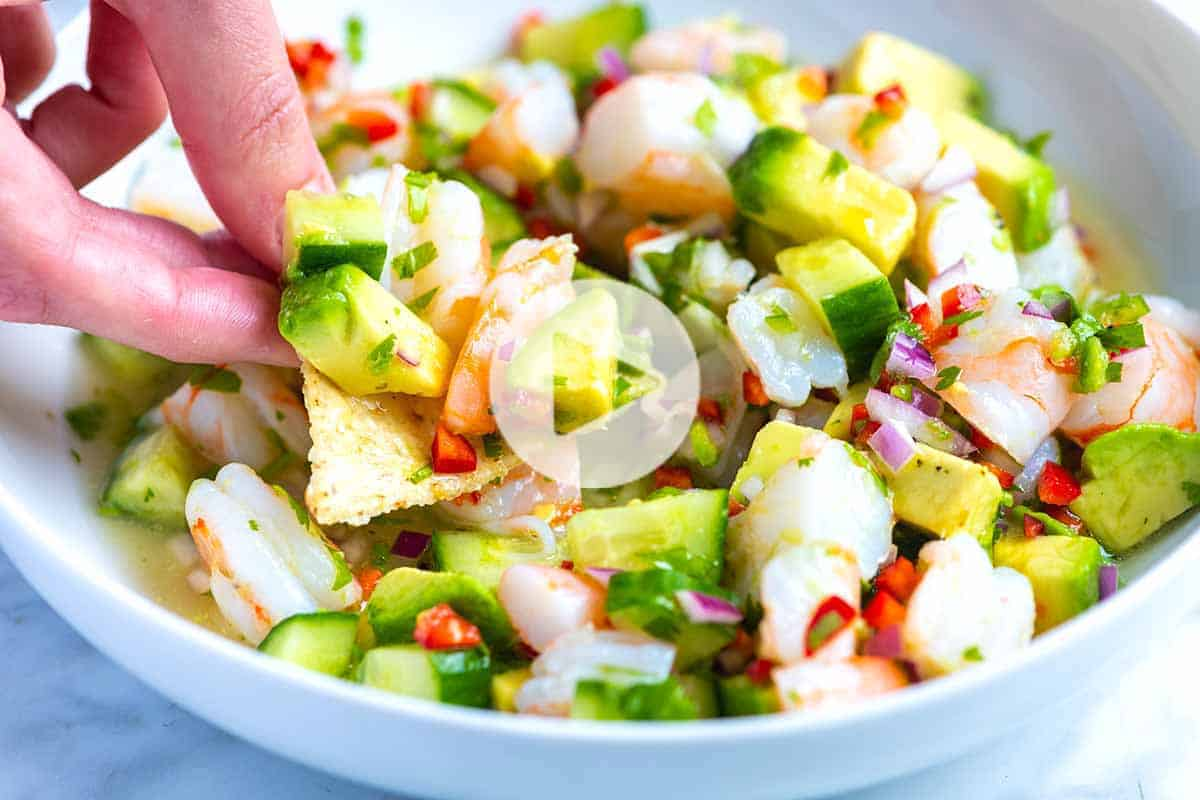 Fresh And Easy Shrimp Ceviche