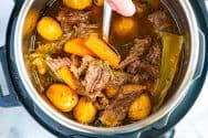 Melt-In-Your-Mouth Instant Pot Pot Roast