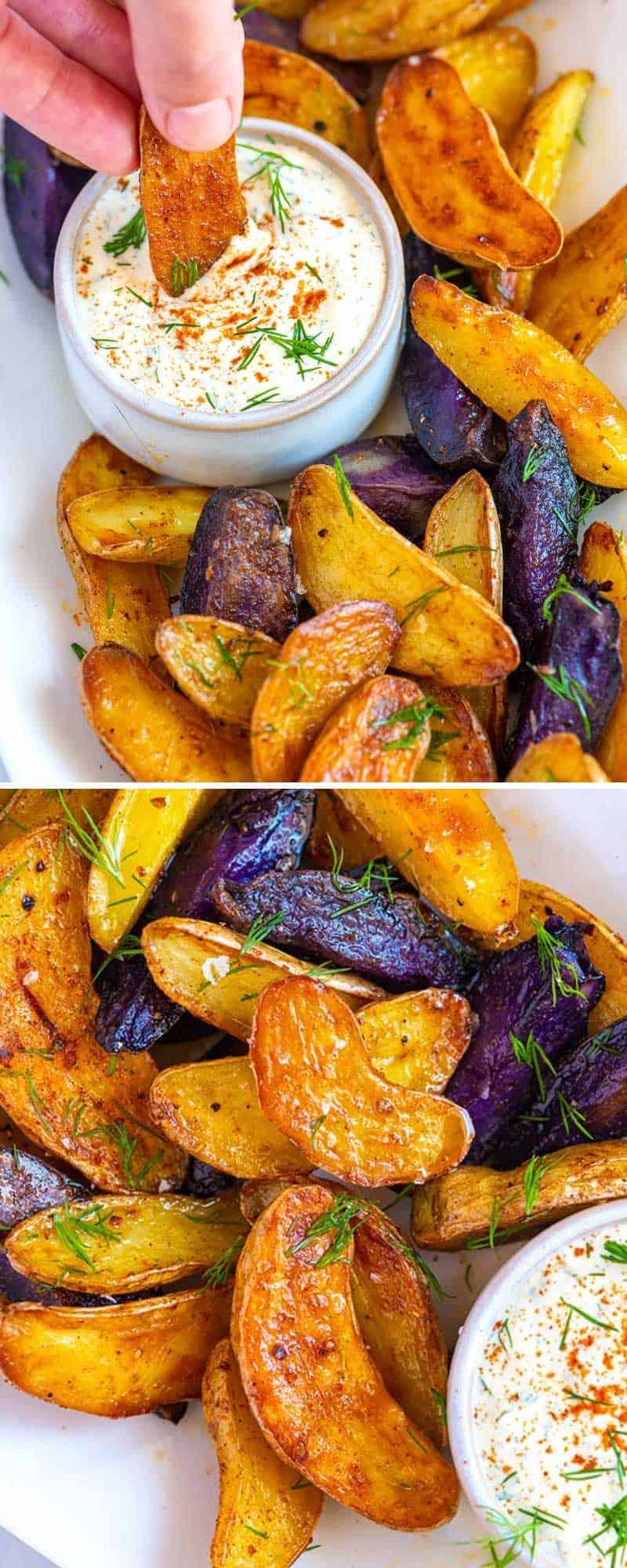 Roasted Fingerling Potatoes Recipe - Inspired Taste 1