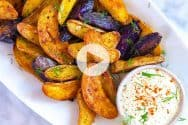 Roasted Fingerling Potatoes Recipe Video
