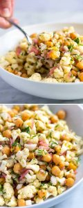 Herby Cauliflower Salad Recipe with Chickpeas