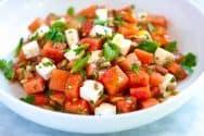 Our Favorite Watermelon Salad Recipe