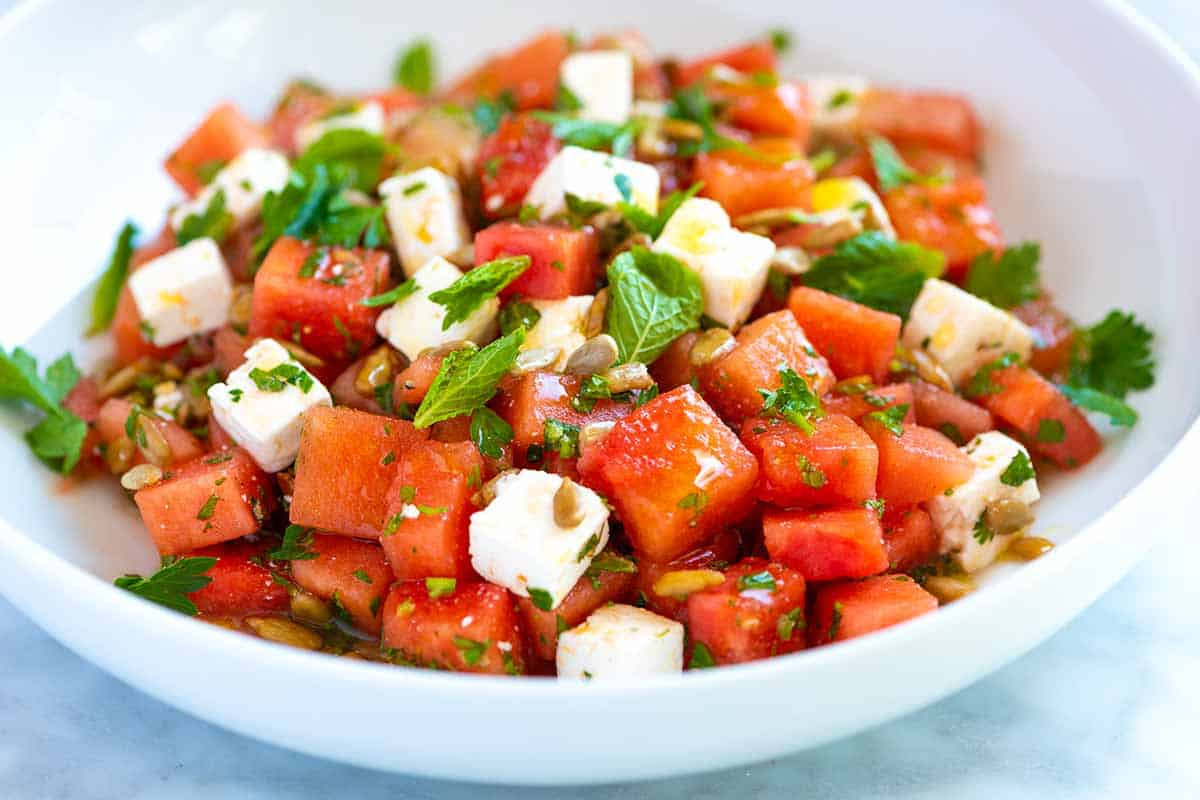 Our Favorite Watermelon Salad Recipe
