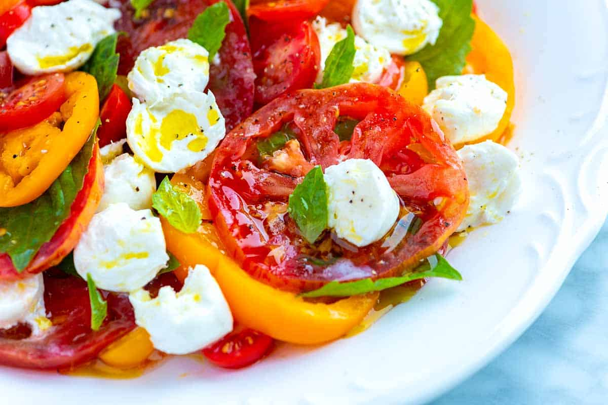 How to Make The Best Caprese Salad