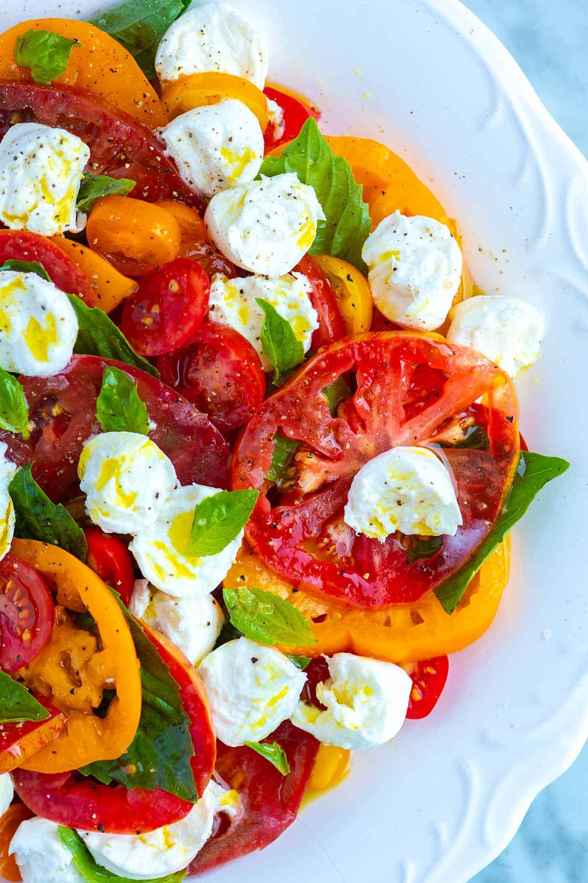 How to Make a Perfect Caprese Salad