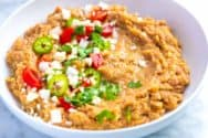Homemade Refried Beans Recipe (Better Than Store-Bought)