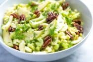 Creamy Apple Salad with Celery and Fennel