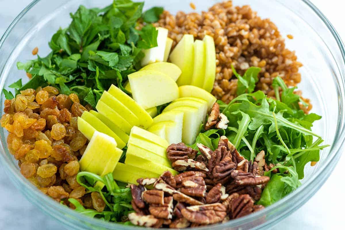 Ingredientes para Ensalada Farro