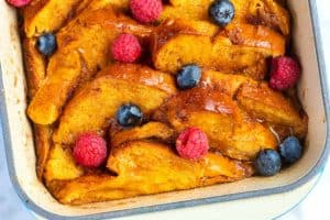 Easy Baked French Toast Recipe