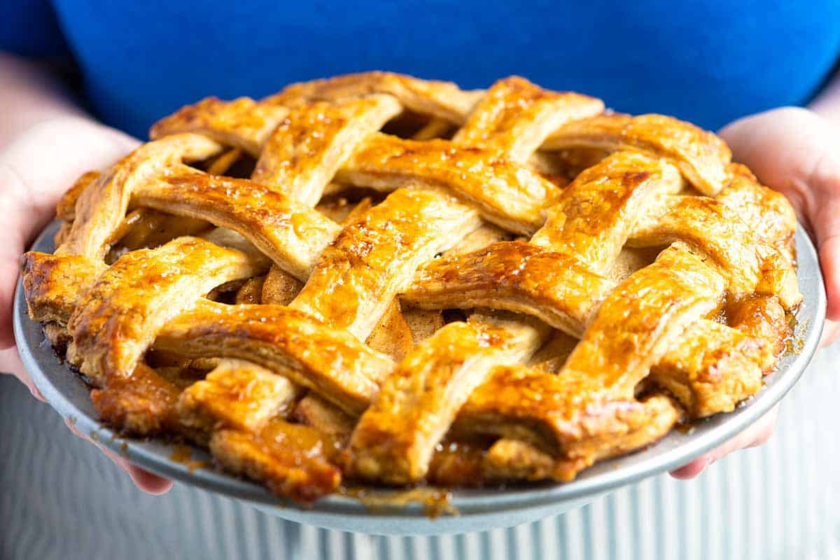 Our Favorite Homemade Apple Pie From Scratch