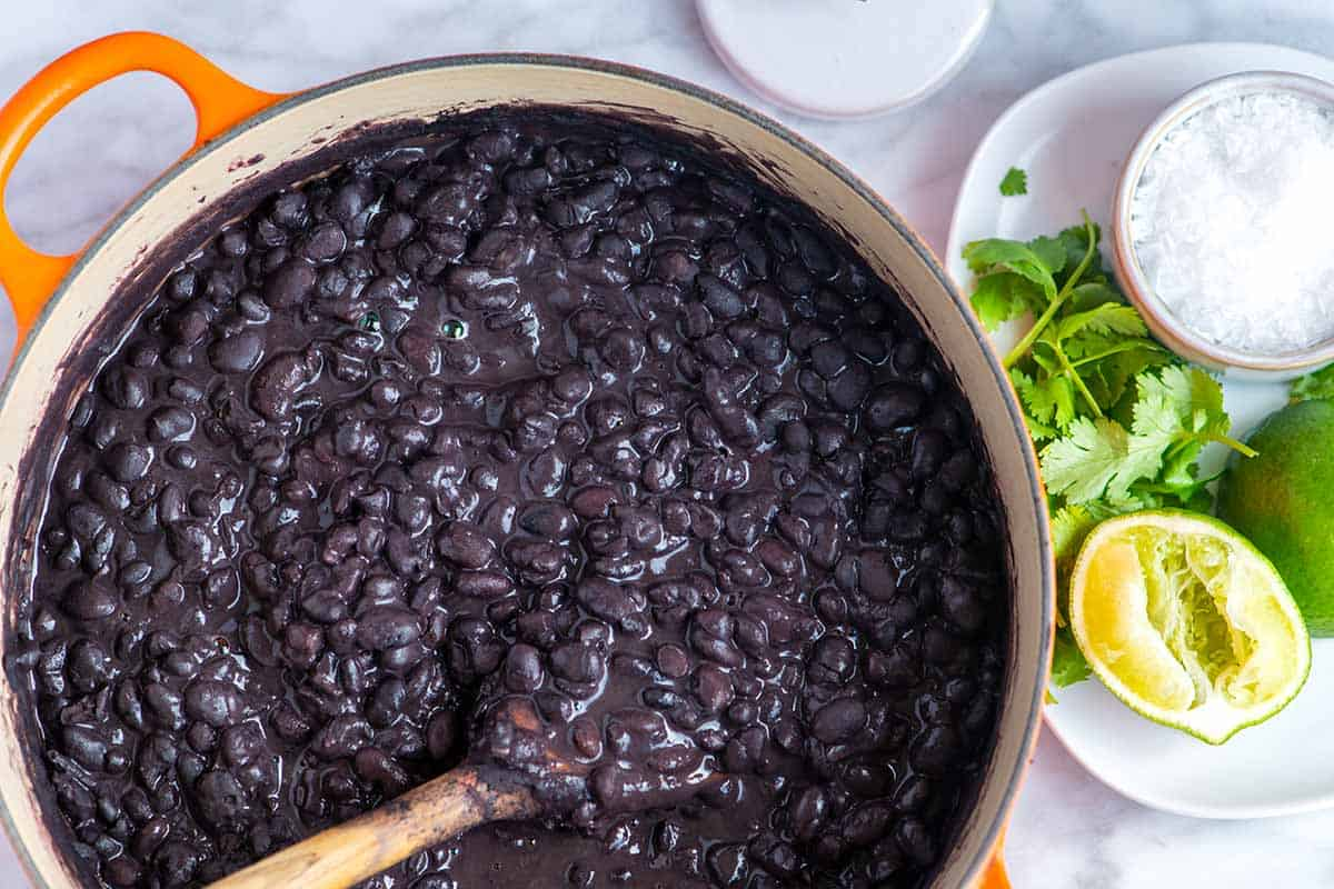 How to Cook Black Beans From Scratch