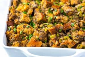 Seriously Good Mushroom Stuffing Recipe