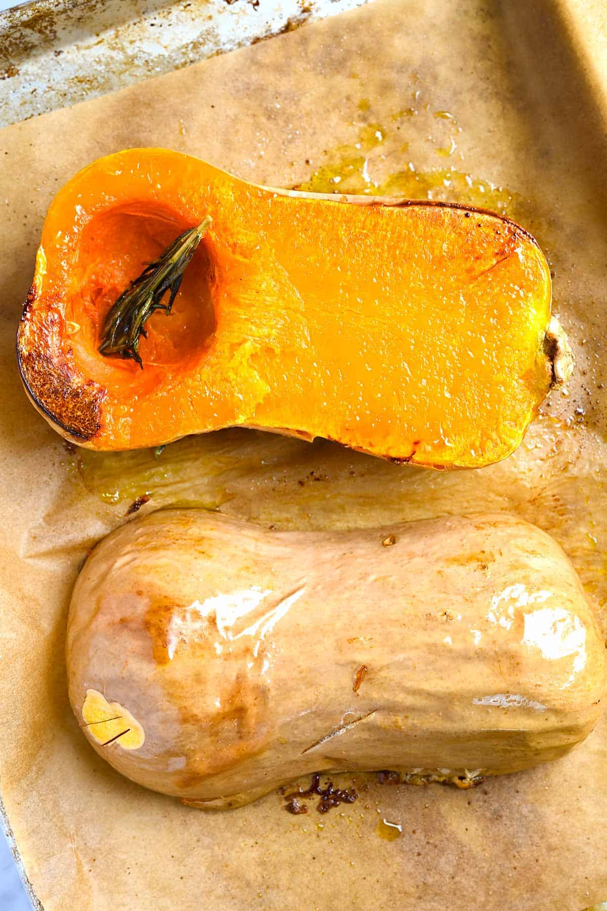 For the best soup, roast the butternut squash first.