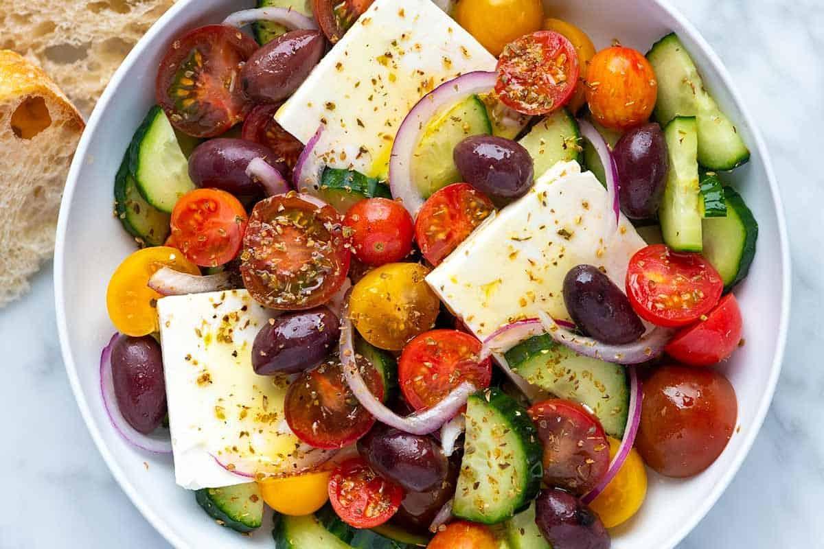 Our Favorite Greek Salad