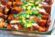 Easy Chicken Enchiladas Recipe