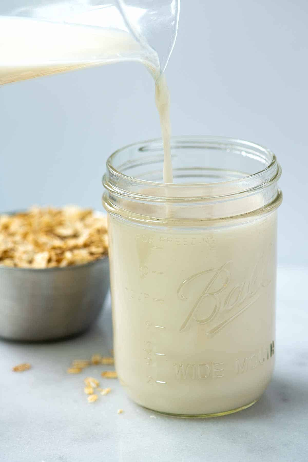 Homemade Oat Milk