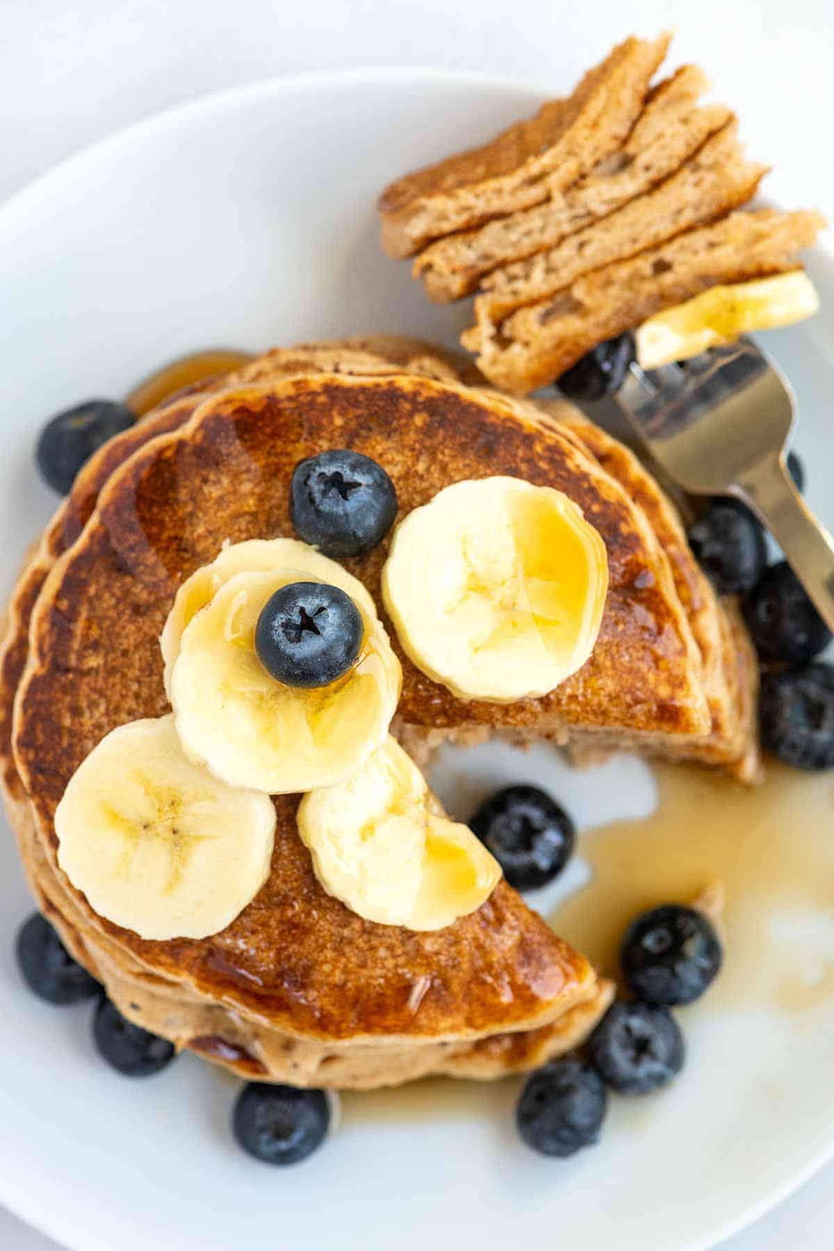 Making Vegan Pancakes